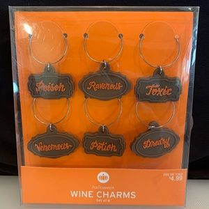 🎃 Halloween Wine Charms - Set of 6 🎃